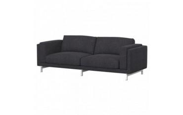 NOCKEBY Funda para sofá de 3 plazas