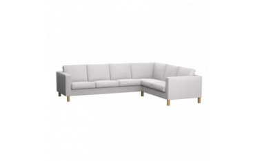 KARLANDA Funda para sofá esquina 3+2