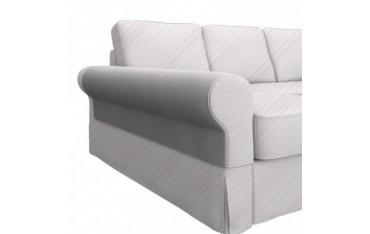 BACKABRO Funda para reposabrazos sofá con chaiselongue, un par