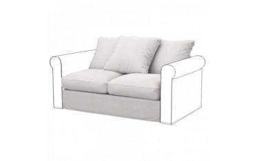 GRONLID Funda para módulos sofá de 2 plazas