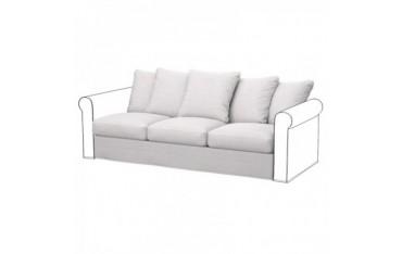 GRONLID Funda para módulos sofá de 3 plazas