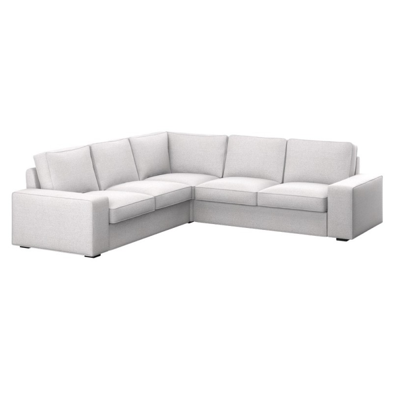Kivik funda para sof esquina 2 2 soferia fundas para for Sofa exterior esquina
