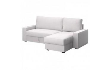 VILASUND Funda sofá cama con chaiselongue