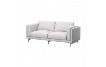 NOCKEBY Funda para sofá de 2 plazas